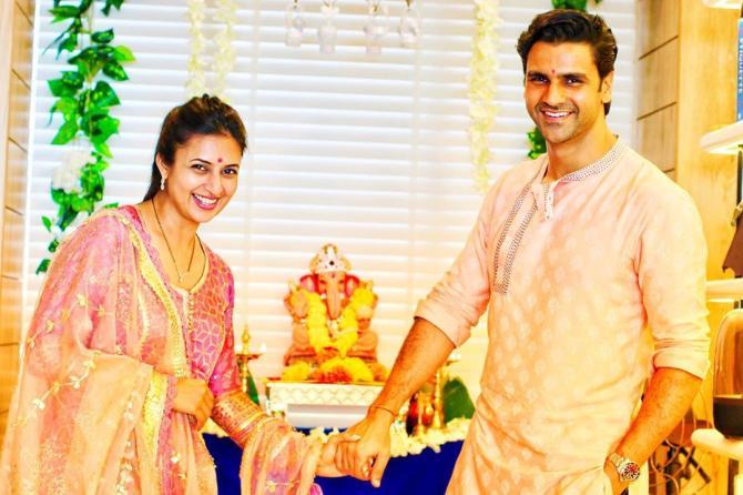Divyanka Tripathi Dahiya and Vivek Dahiya