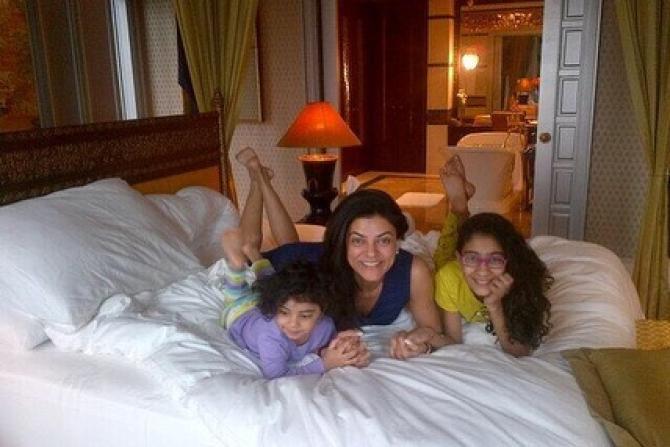 Sushmita Sen, Renee and Alisah