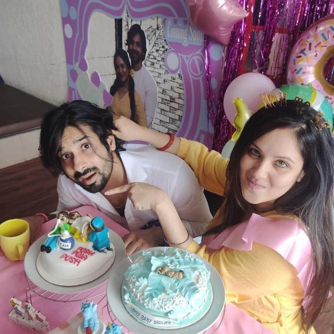 Puja Banerjee and Kunal Verma