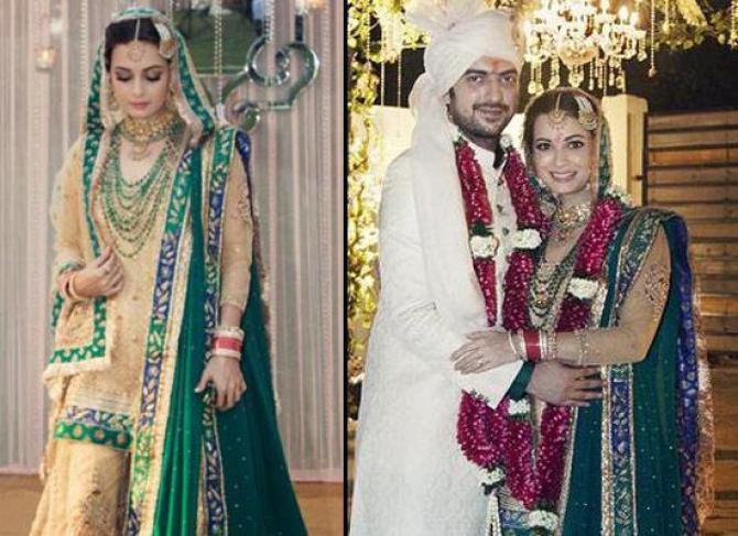 Dia Mirza and Sahil Sangha's Wedding