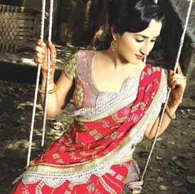 Designer Saree Draping Styles