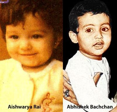 Abhishek and Aishwarya Bachchan