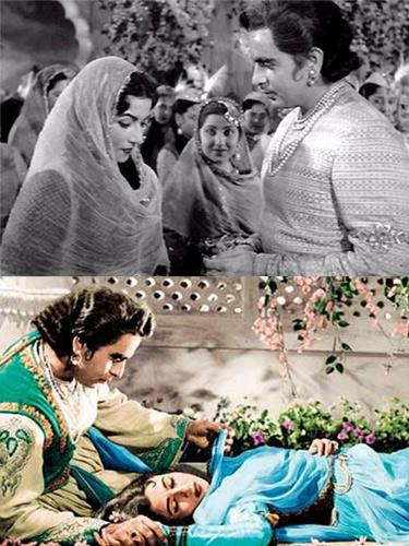 Dilip Kumar and <a href='https://pontianak.tribunnews.com/tag/madhubala' title='Madhubala'>Madhubala</a>