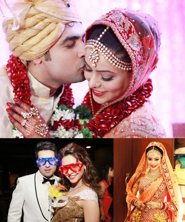 Bollywood and TV Celebrity Weddings of 2013 ...Aamna Sharif Real Life Marriage Photos