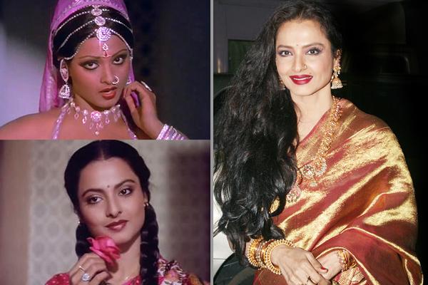 Dusky Bollywood Divas Who Went For Skin Lightening Treatment - Rekha