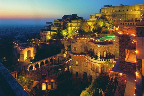 stunning and luxury wedding destinations in India 2015 neemrana fort