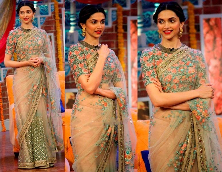 Top 10 Looks Of Deepika Padukone In Traditional Wear