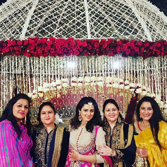 Ridhi Dogra at Arun Jaitley's daughter's wedding