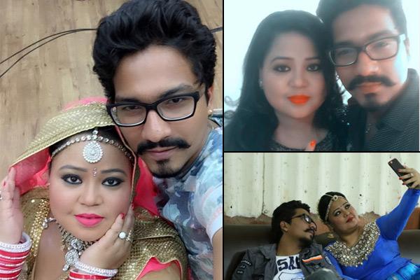 Bharti SIngh with boyfriend