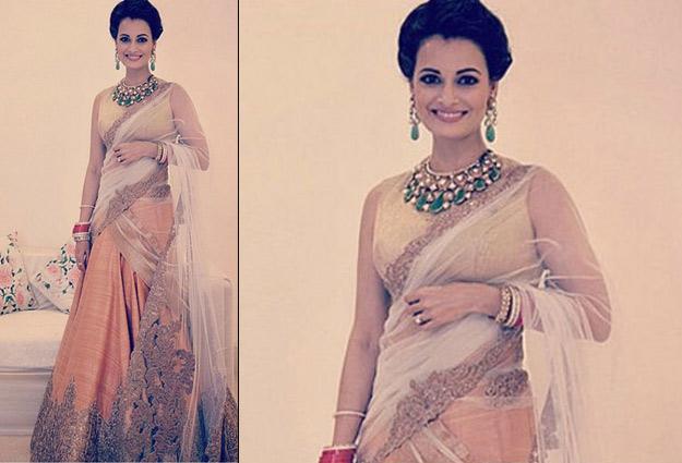 Wedding Reception Looks Of Bollywood Brides