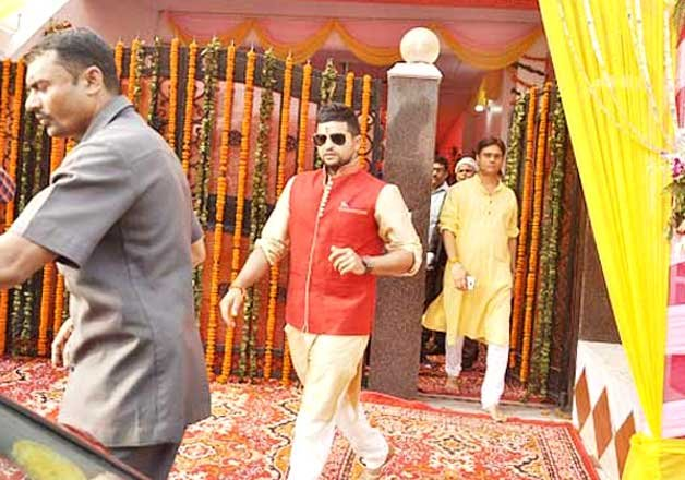 Suresh Raina Priyanka Chaudhary Engagement
