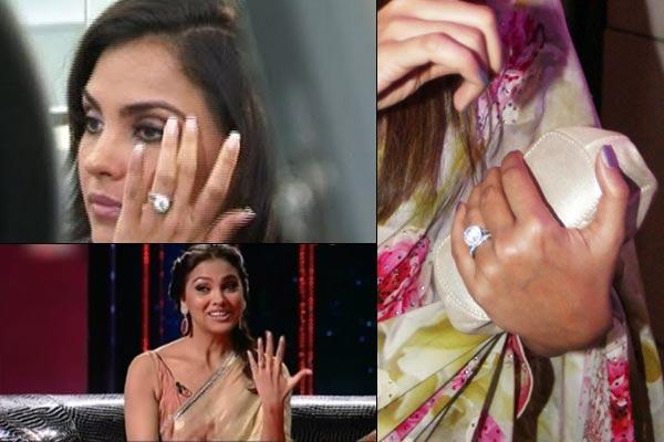 bollywood actresses Lara Dutta engagement ring