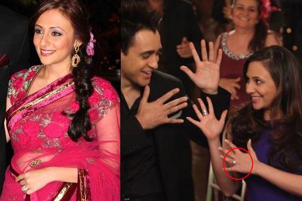 bollywood actresses Avantika Malik engagement ring