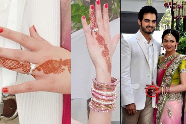 bollywood actresses Esha Deol engagement ring