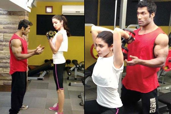 anushka sharma workout regime