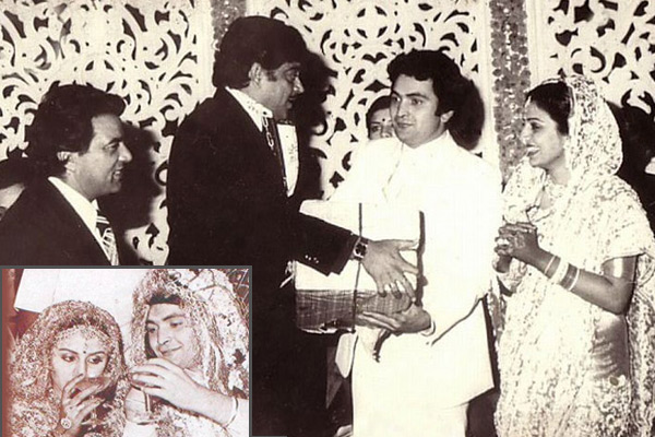 Neetu Singh And Rishi Kapoor wedding photos