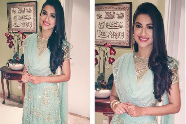 nigaar wedding pictures gauhar khan look