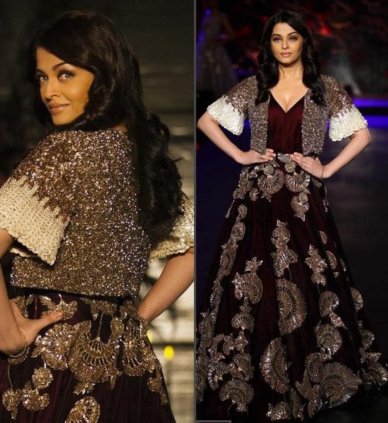 #8. Aishwarya Rai Bachchan for Manish Malhotra