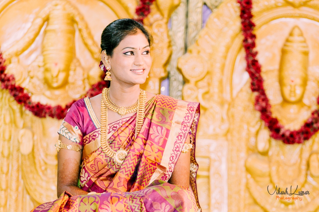 ethnic andhra wedding bridal look details- BollwyoodShaadis