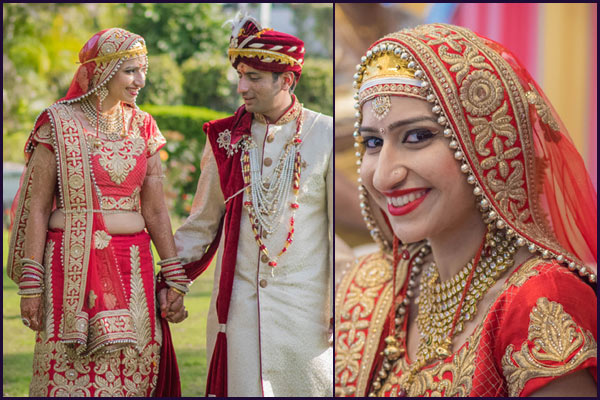 ethnic kashmiri wedding bridal look details- BollwyoodShaadis