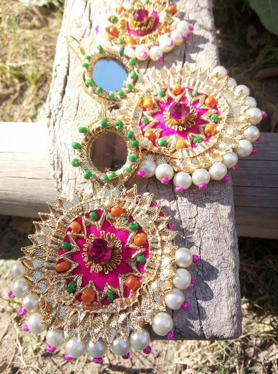 mesmerising jhumkis Jewellery