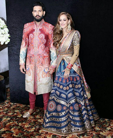 Hazel Keech Wedding