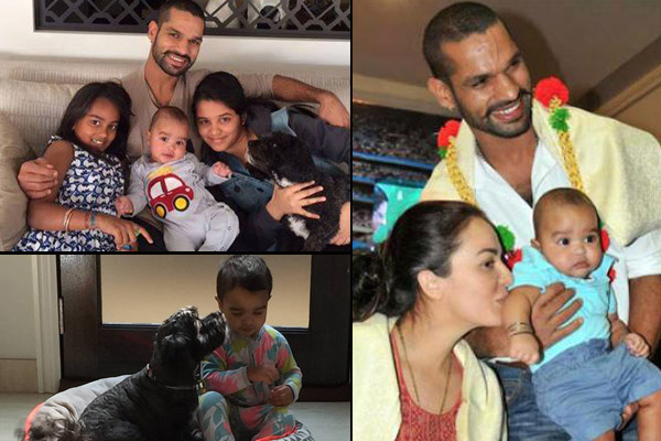 indian cricketers and their kids