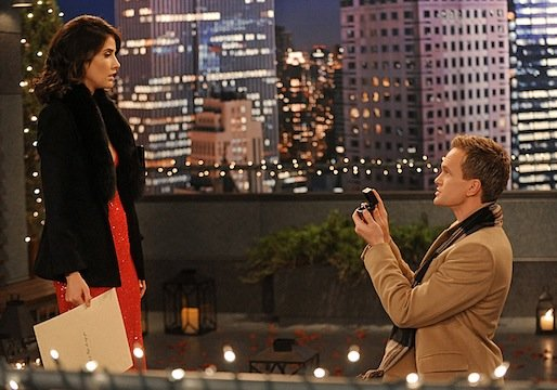 16 Things Every Wife Wishes To Tell Her Future Husband how i met your mother barney robin wedding propose
