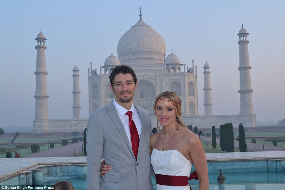 Meet the bride and the groom who got hitched in 8 different countries!
