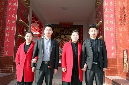 Twin Brothers Who Got Married To Twin Sisters In China Resorted To Plastic Surgery For Reasons That Will Shock You