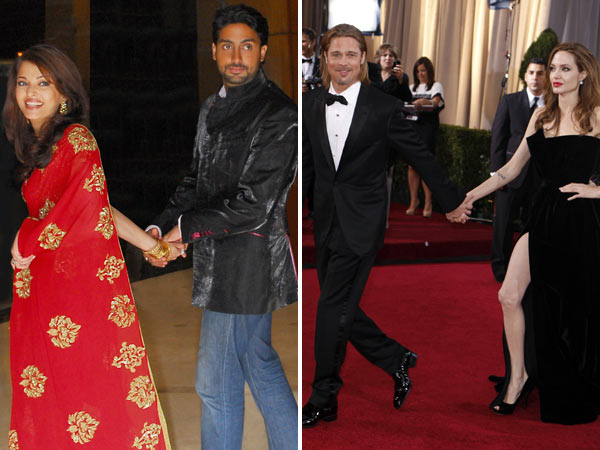 20 Signs the Honeymoon Phase of Your Relationship Never Ended abhishek bachchan asiwahrya bachchan brad pitt angelina jolie