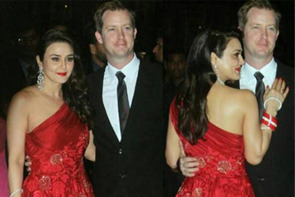 Preity Zinta Wedding