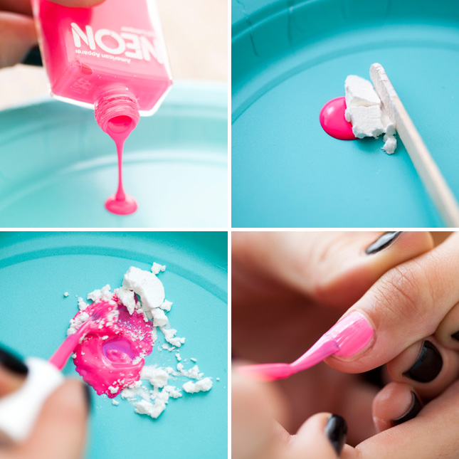turn your nail polish matte