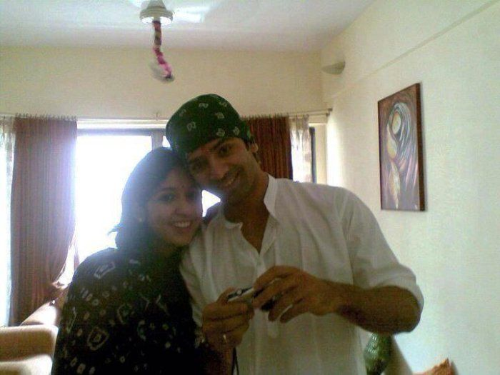 Sobti And His Wife Pashmeen Manchanda
