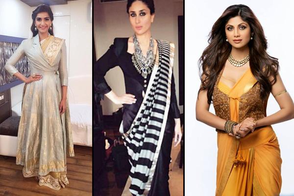 Jacket Saree Look For Diwali