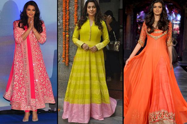 Anarkali Look For Diwali
