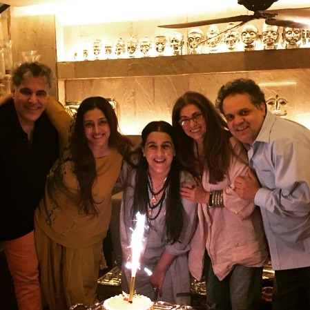 Tabu with her industry friends