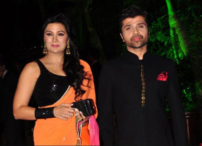 Himesh Reshammiya With Sonia Kapoor
