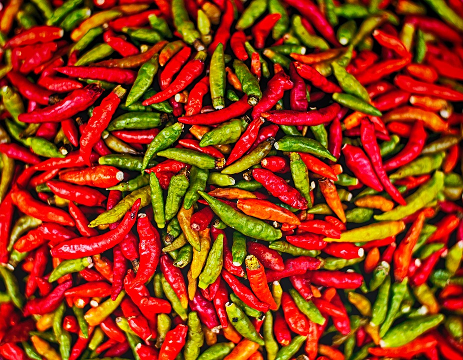 Chillies For Weight Lose