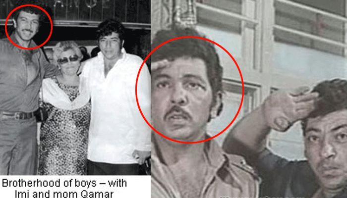 Imtiaz Khan with brother Amjad Khan