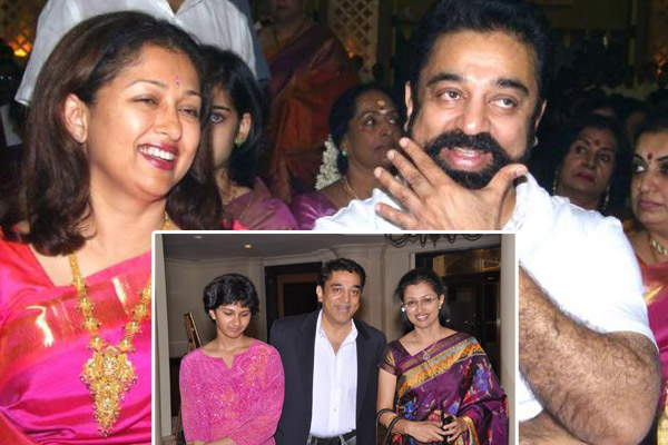 Goutami and Kamal Haasan