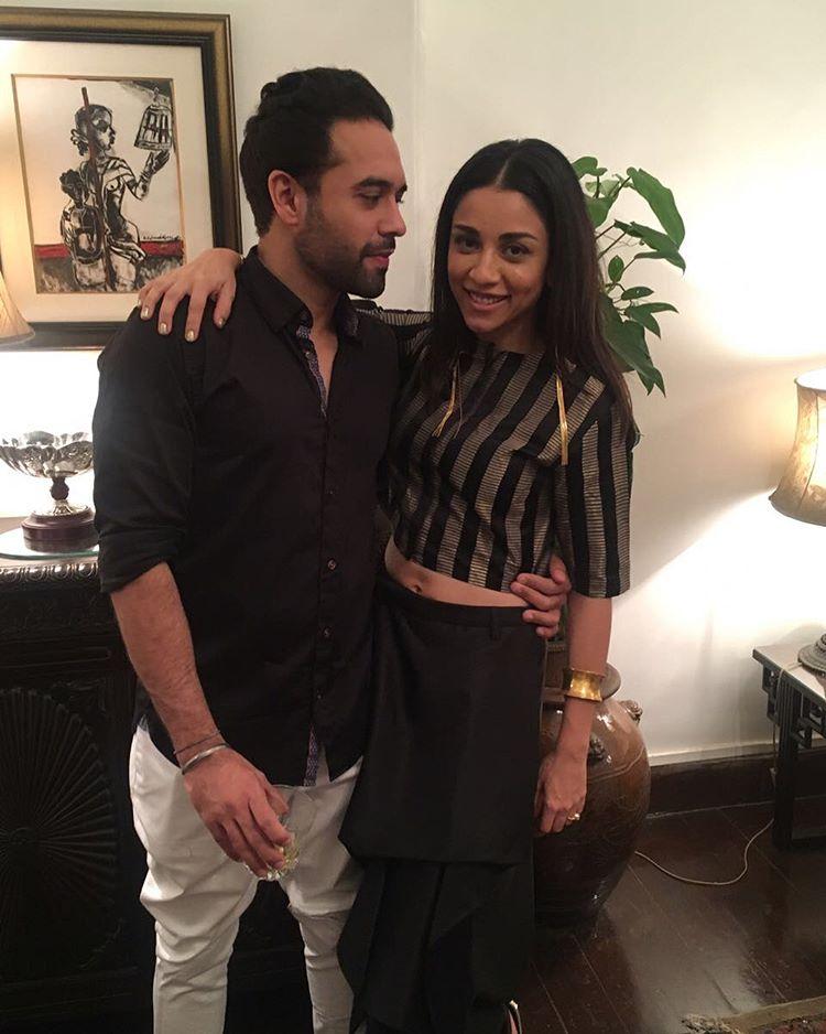Amrita Puri and Imrun Sethi