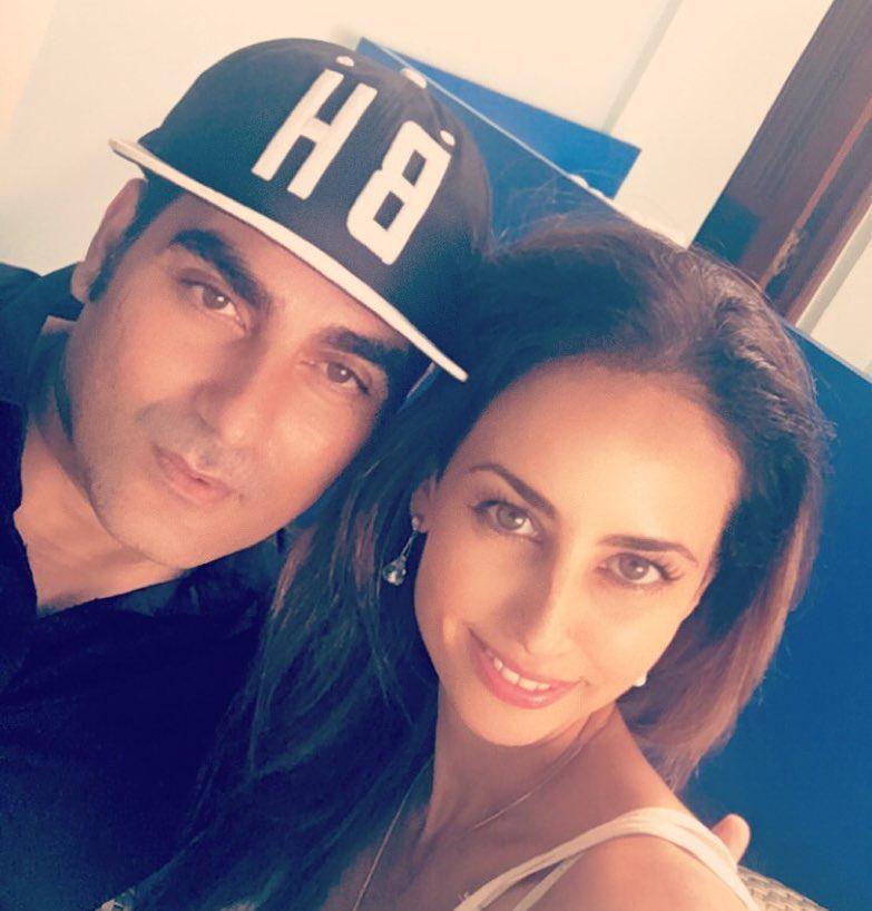 Arbaaz Khan and Yellow Mehra
