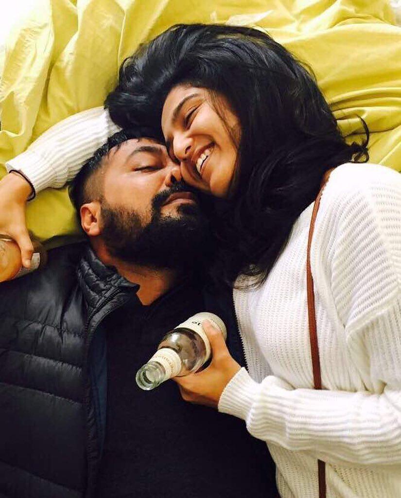 Anurag Kashyap and Shubhra Shetty