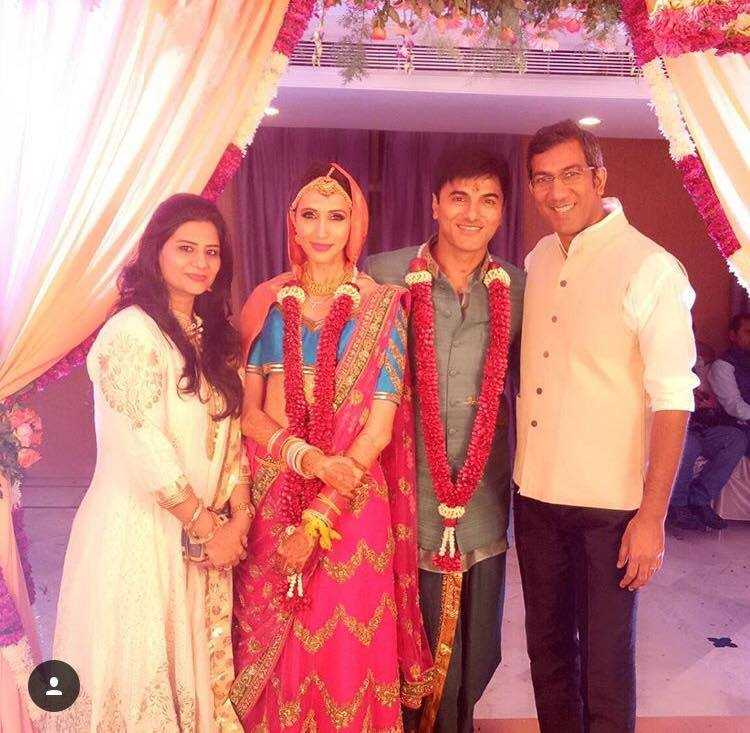 Single Mother Alesia Raut Married TV Actor Siddhaanth In ...