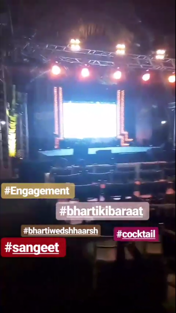Bharti And Haarsh Engagement Ceremony