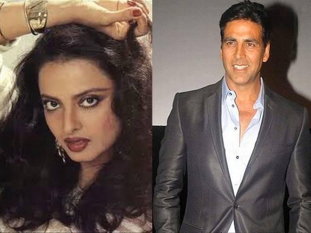 Akshay And Rekha Love Affair