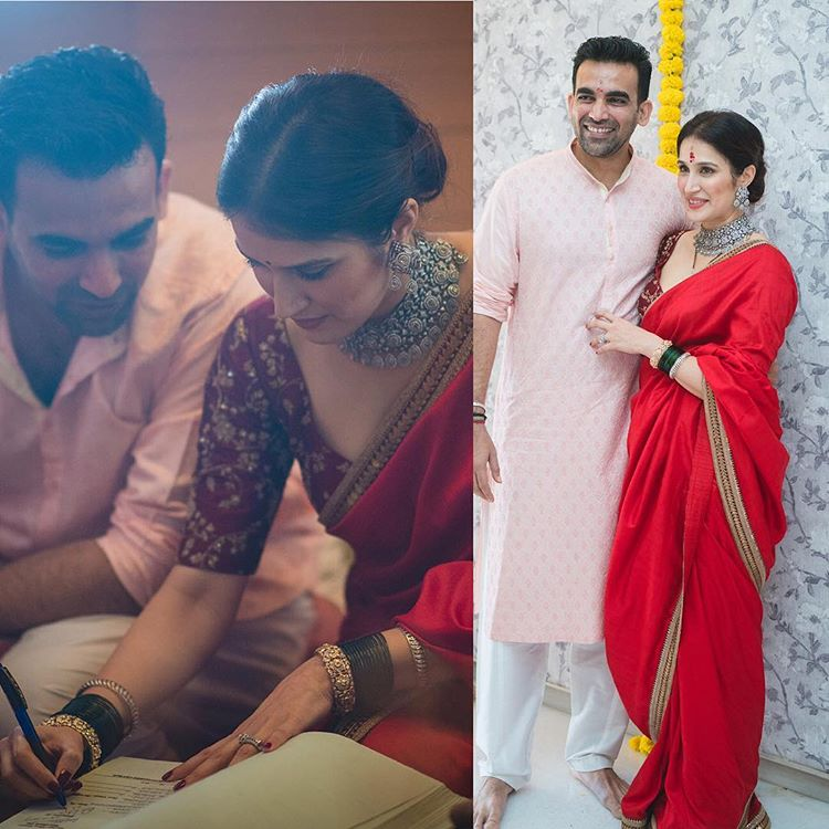 Sagarika Ghatge Bridal Look