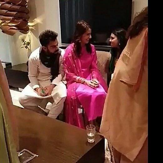 Virat And Anushka Post-Honeymoon Look