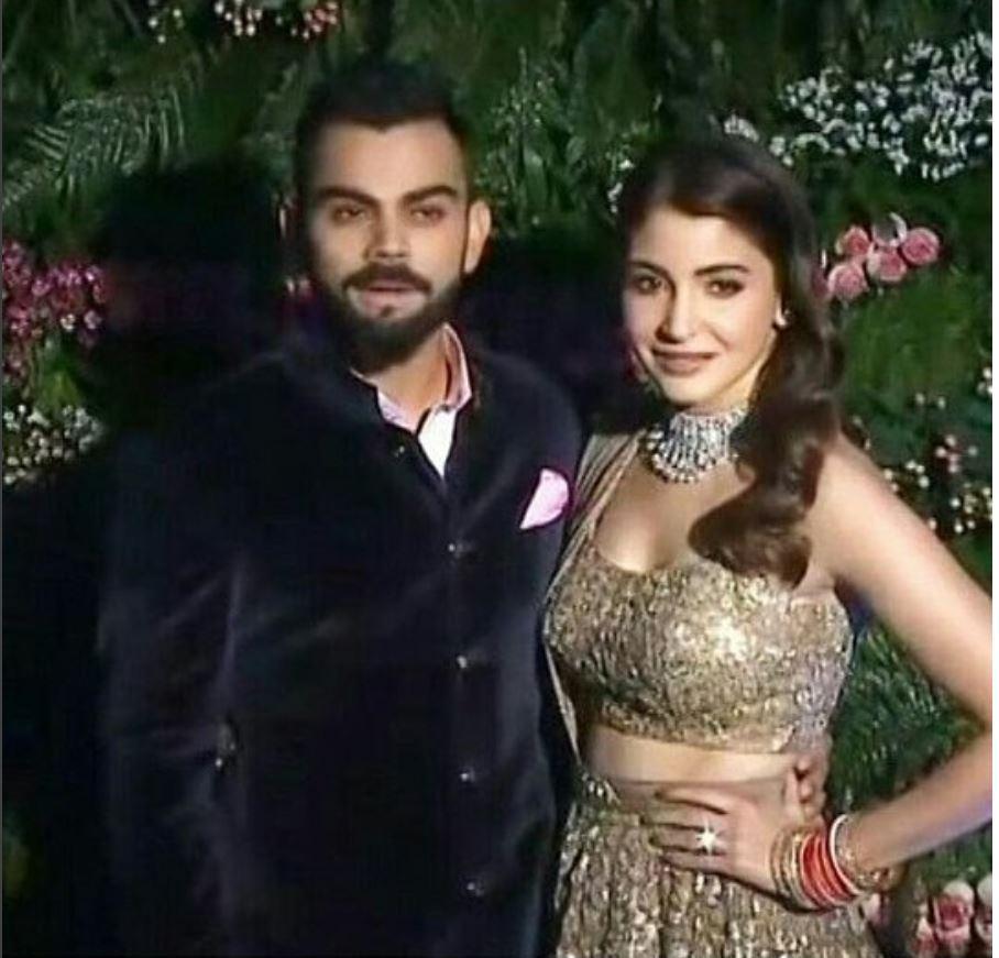 Virushka Mumbai reception